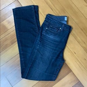 Paige Denim Hoxton Straight In Kelly Size 28